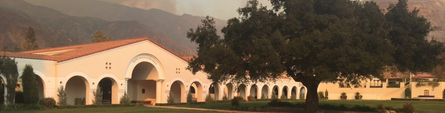Photos: Campus Appears to Survive Thomas Fire Largely Unharmed