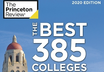 Princeton Review cover 2020