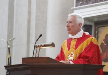 Fr. Illo at the Convocation Mass of the Holy Spirit 2019