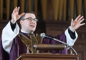Rev. Michael Casey at the New England Chapel 2019