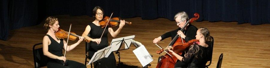Fall Concert with the Santa Barbara String Quartet: Photos & Audio!
