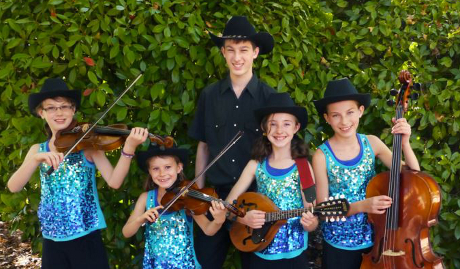 Sierra Silverstrings, featuring the children of Eve (Bouchey '97) and Jeremy McNeil ('96)