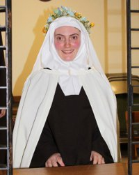 Sr. Maria Battista of the Lamb of God (Maria Forshaw '07)