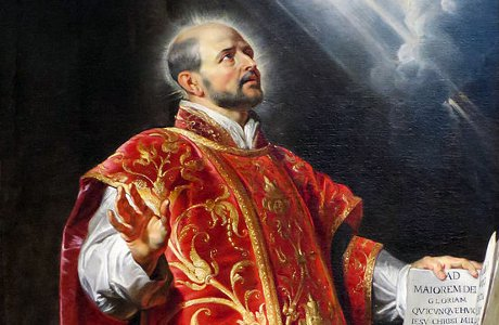 St. Ignatius of Loyola, by Peter Paul Rubens