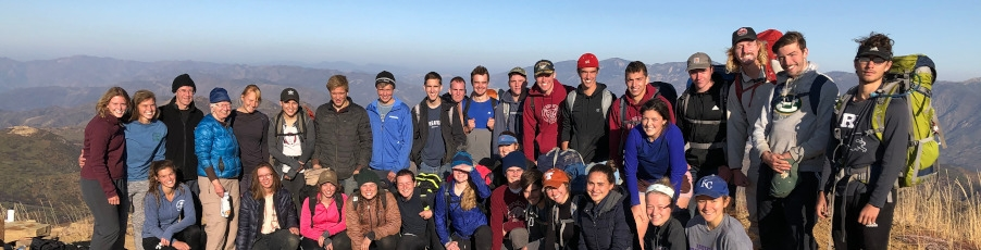 Slideshow: Fr. Paul Leads Students on Backpacking Trip to Topatopa Peak
