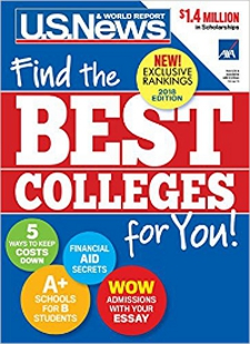 U.S. News Best Colleges cover