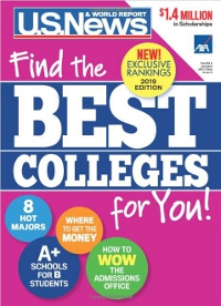 Cover of US. News' Find the Best Colleges for You!