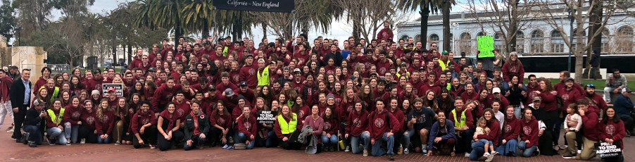 Photos & Video: California Students Lead the Way at Walk for Life 2020