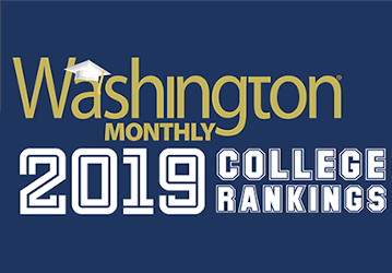 Washington Monthly 2019 College Rankings Logo