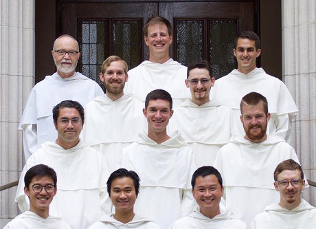 Western Dominican novices