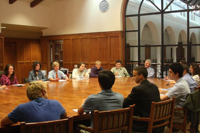 All-College Seminar (fall 2011)