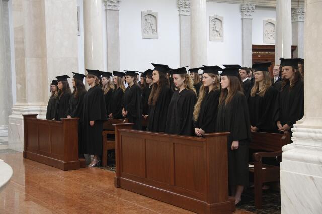 2012 Baccalaureate Mass 06