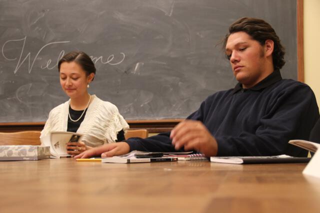 All-College Seminar Fall 2014 -- 05