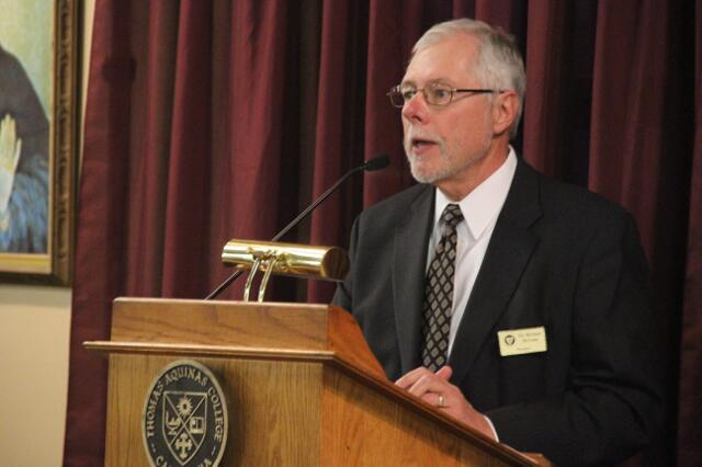 Dr. McLean at 40th Anniversary On Campus Celebration