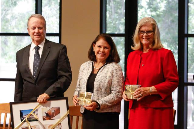 Maureen and Rex Rawlinson and Cheryl Robinson, trustees of the Fritz B. Burns Foundation