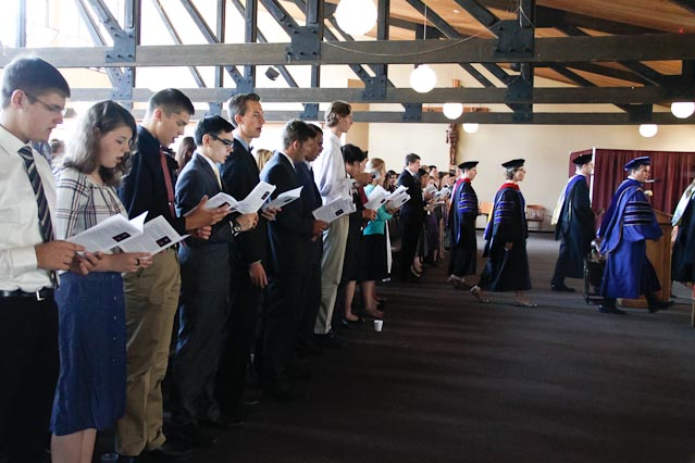 Convocation 2016 -- Matriculation
