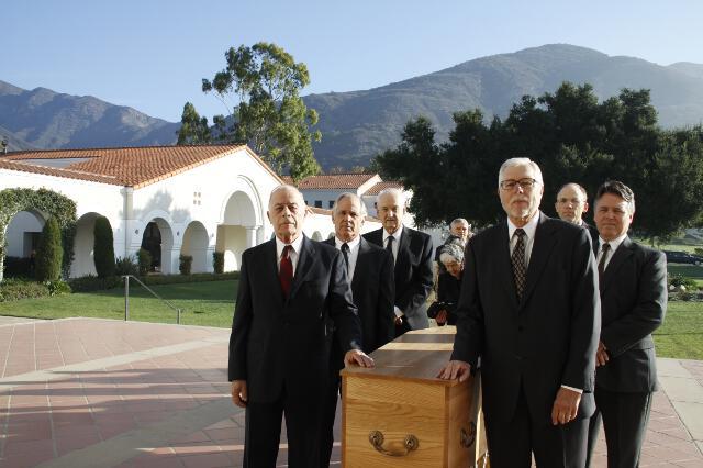 Ronald McArthur Funeral -- 01