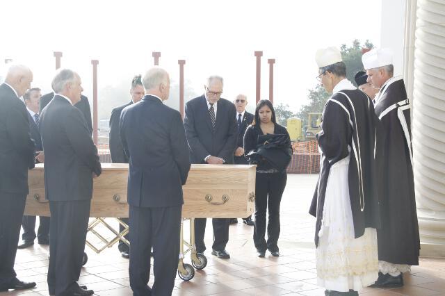 Ronald McArthur Funeral -- 04