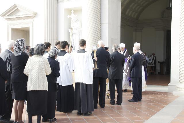 Ronald McArthur Funeral -- 05