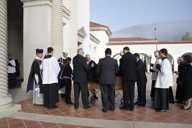 Ronald McArthur Funeral -- 06
