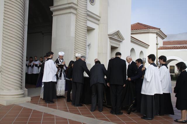 Ronald McArthur Funeral -- 08