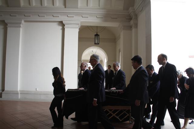Ronald McArthur Funeral -- 10