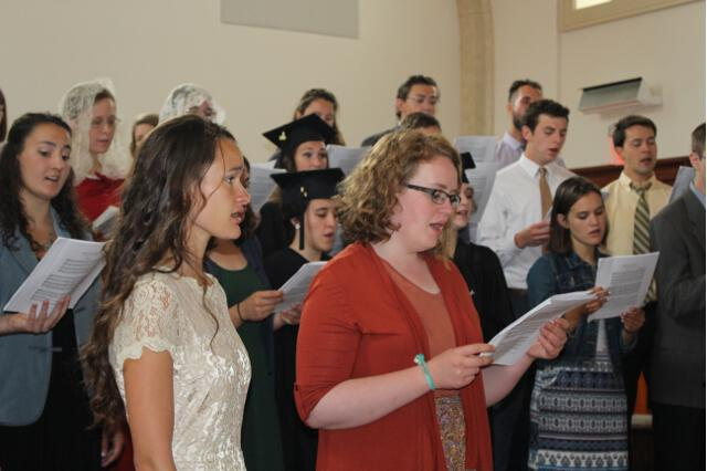 The Thomas Aquinas College Choir