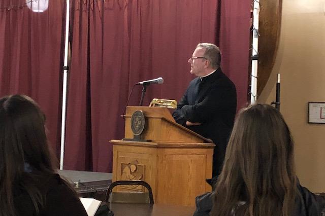 Bishop Barron Visit (2018)