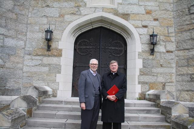 Dr. McLean and Bishop McManus
