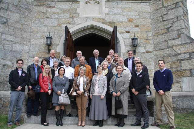 College governors tour New England campus