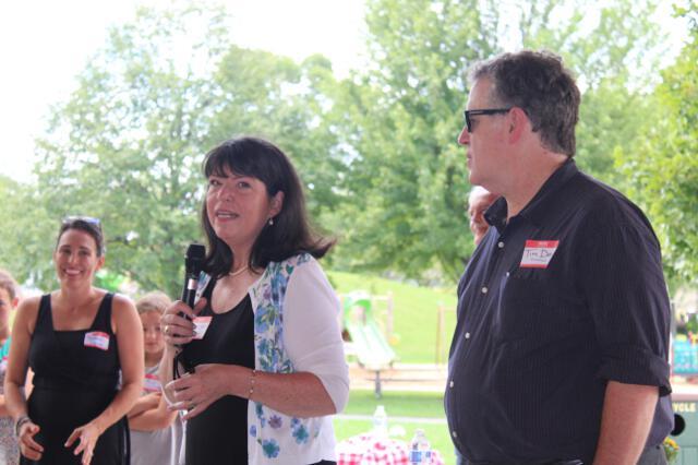 Alumni picnic in Prospect Park