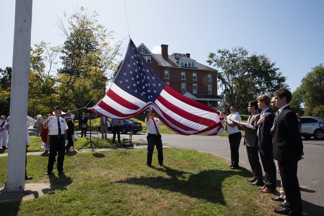 New England Convocation 2019 -- Flag-raising