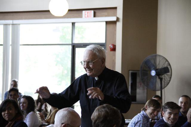 Fr. Buckley 90th Birthday -- 03