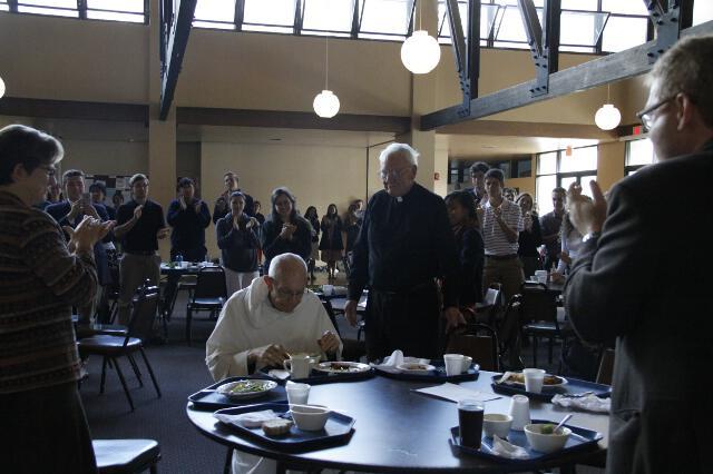 Fr. Buckley 90th Birthday -- 04