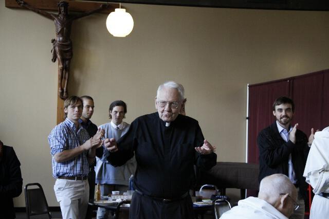 Fr. Buckley 90th Birthday -- 05
