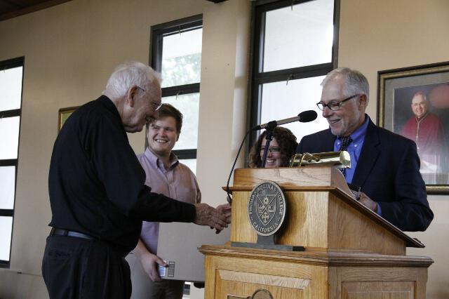 Fr. Buckley 90th Birthday -- 06