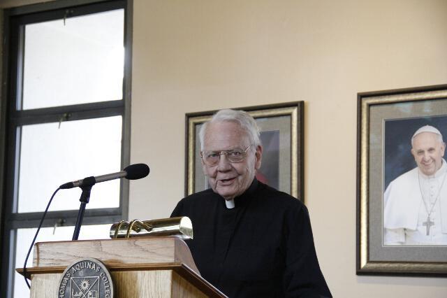 Fr. Buckley 90th Birthday -- 07