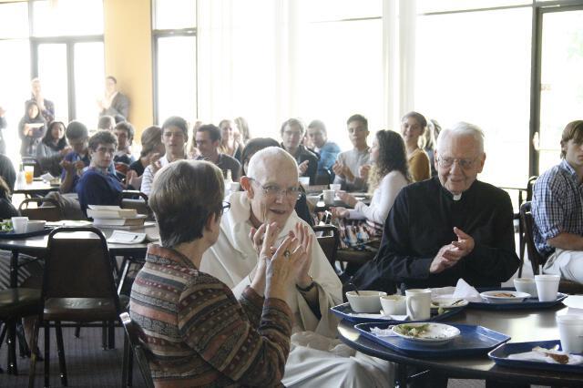 Fr. Buckley 90th Birthday -- 08