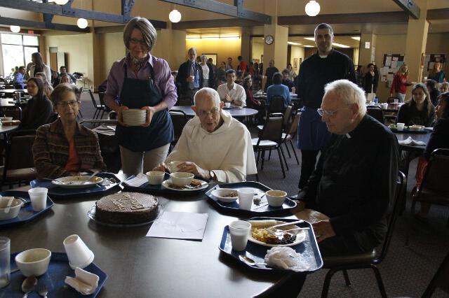 Fr. Buckley 90th Birthday -- 09
