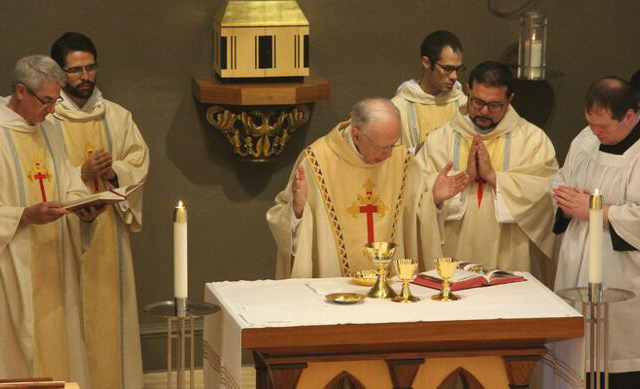 The Liturgy of the Eucharist with Bishop Hermann