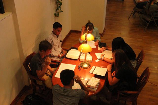 HSSP14 -- 1st Wednesday -- Study Hall -- 10