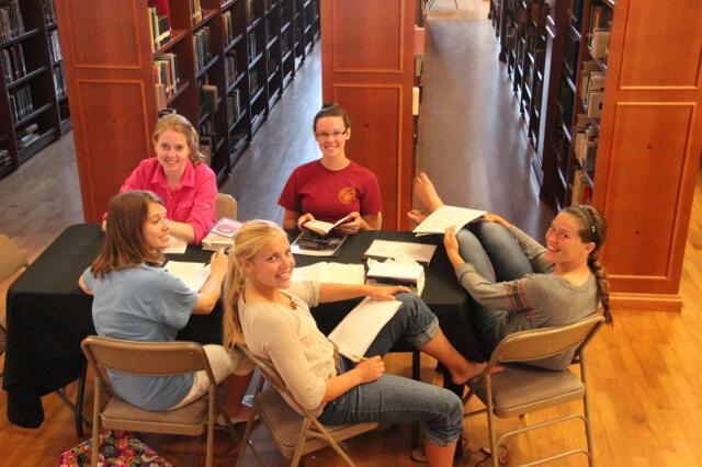 HSSP14 -- 1st Wednesday -- Study Hall -- 14