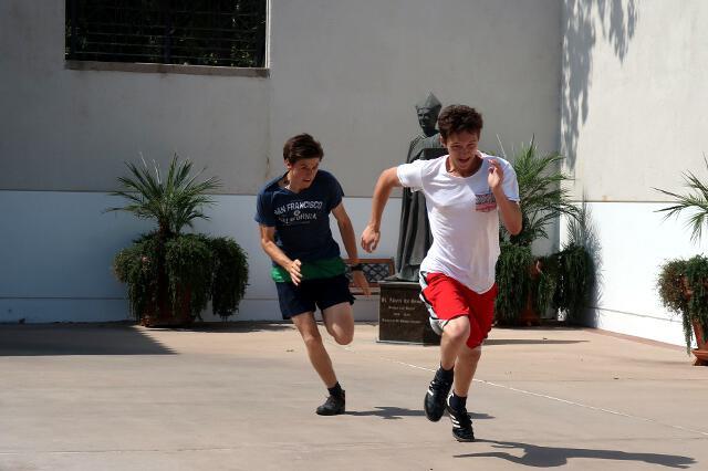 Quad run