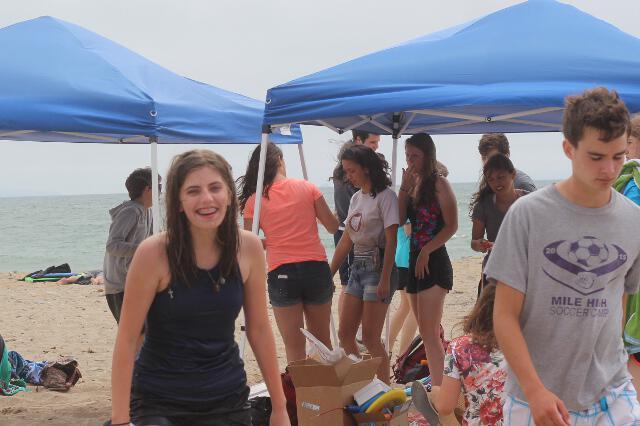 High School Summer Program 2017 -- Beach Day