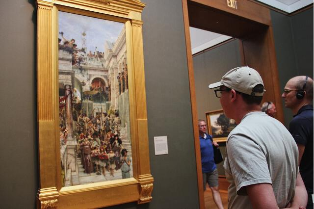 Summer Program 2017 Trip to the Getty Center