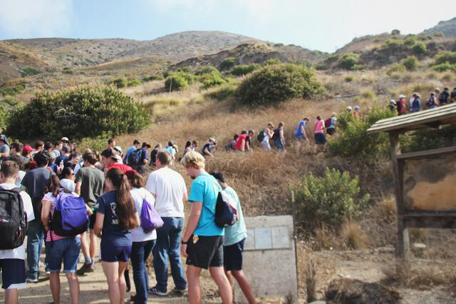 Summer Program 2017 Hike on Chumash Trail