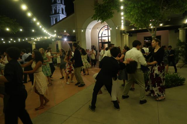 Dance in St. Gladys Plaza