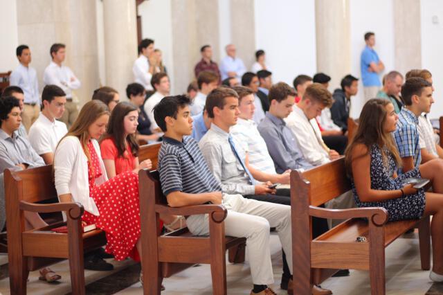 High School Summer Program 2017 -- Sunday Mass