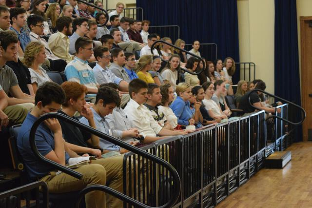 Students at the Academic Orientation