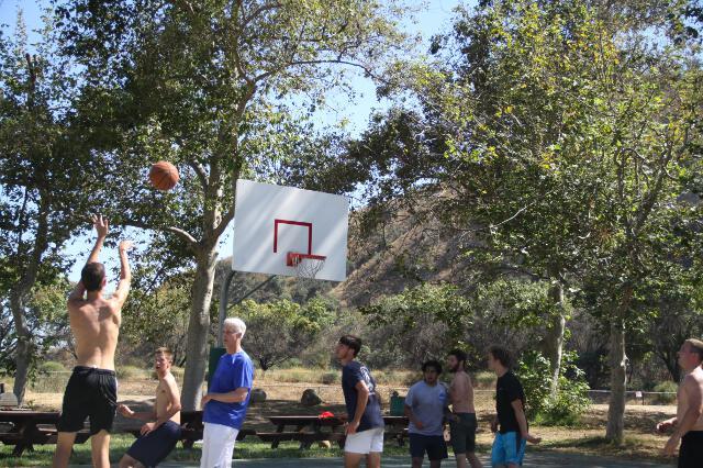 Recreational basketball